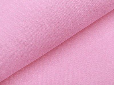 Angerauter Sweat - meliert rosa