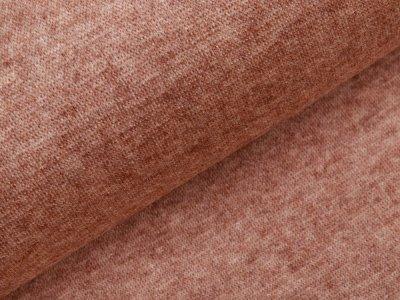 Jersey Strickstoff - meliert helles braun
