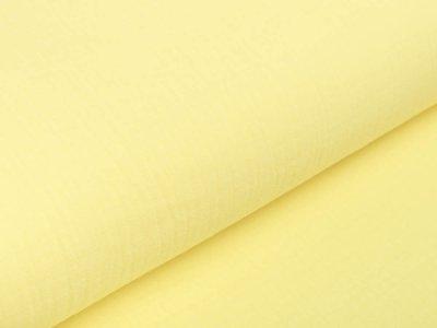 Musselin Baumwolle Hydrofiel Double Gauze Fashion - uni sonnengelb