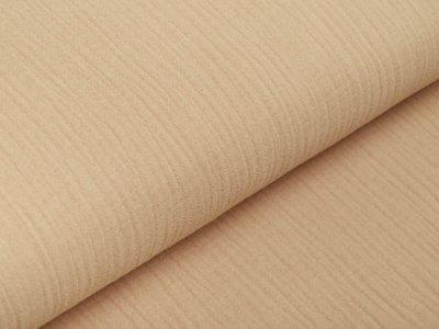 Musselin Baumwolle Hydrofiel Double Gauze Fashion - uni beige