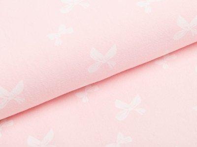 Webware Baumwolle- Schleifen - rosa