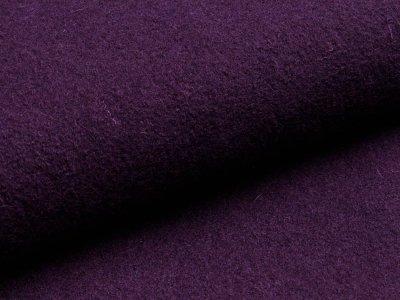 Walkloden - uni dunkles lila