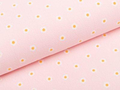 Webware Baumwolle - Blümchen - rosa