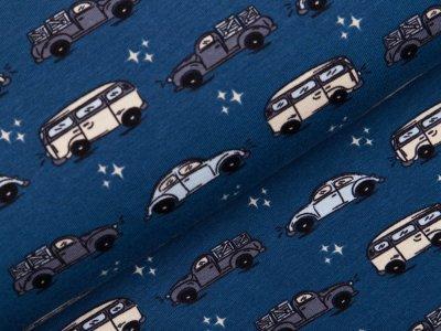 Jersey Sam - verschiedene Autos - blau