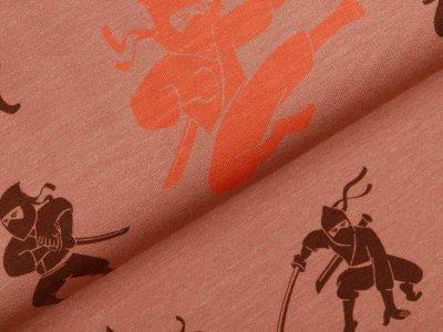 Jersey by Mies&Moos - Ninjas - braun