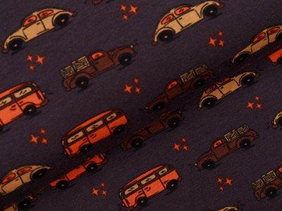 Jersey Sam - verschiedene Autos - braun