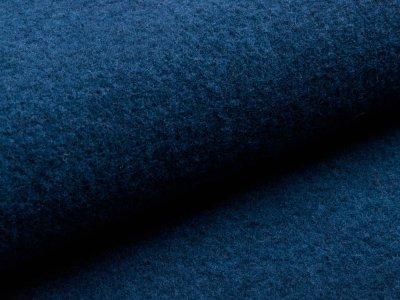 Walkloden - uni dunkles jeansblau