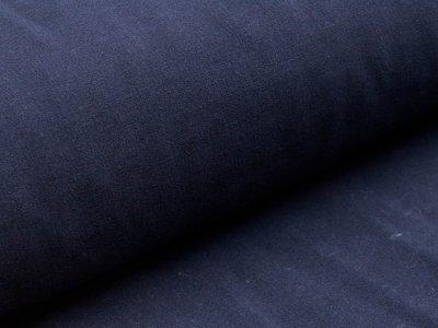 Webware Viskose - uni nachtblau