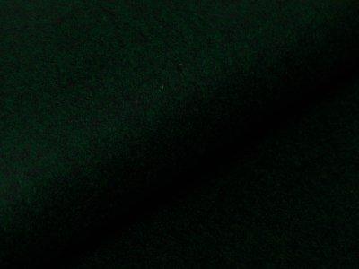 Wollstoff Mantelflausch - meliert flaschengrün