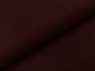 Glattes Bündchen im Schlauch - uni rehbraun
