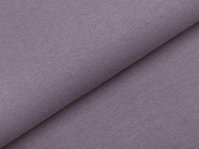 Glattes Bündchen im Schlauch - uni grau