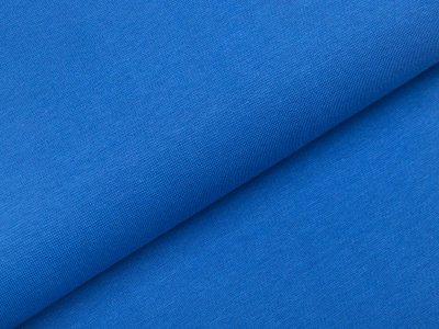 Glattes Bündchen im Schlauch - uni jeansblau
