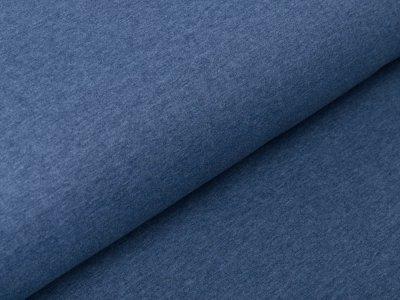 Angerauter Sweat Jolieno - meliert jeansblau