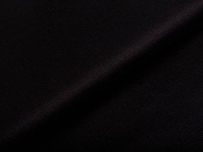 Webware Popeline Baumwolle Organic Cotton - uni schwarz