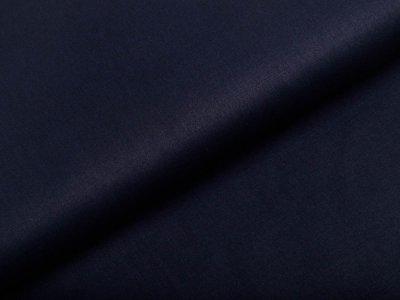 Webware Popeline Baumwolle Organic Cotton - uni navy