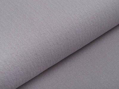 Musselin Baumwolle Double Gauze Collino - eingestanztes Blumenmuster - grau