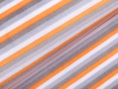 Nicki - Streifen - weiß/grau