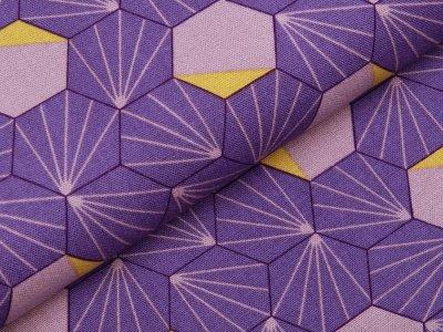 Canvas Tillisy - geometrische Formen - flieder