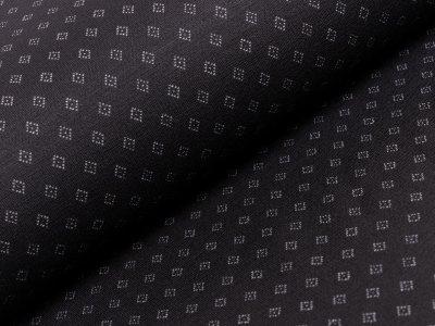 Jacquard - Rautensymbol - schwarz