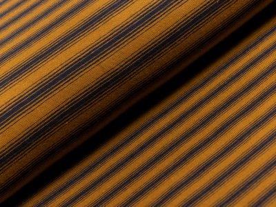 Jersey - Streifen - orange/schwarz