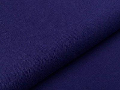 Glattes Bündchen im Schlauch Heike Swafing 100 cm breit - marine
