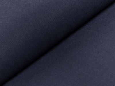 Piqué Webware - uni marine jeans