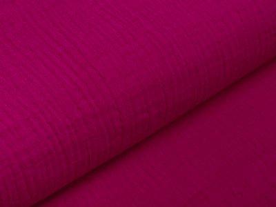 Baumwoll Musselin Double Gauze - uni pink