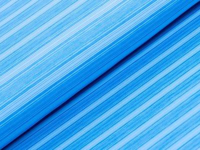 Sportstoff - Streifen - blau