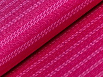 Sportstoff - Streifen - pink