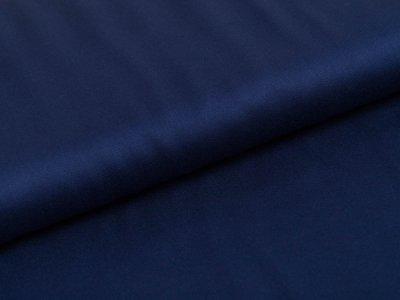 Viskosesatin leicht glänzend Swafing Vivien - uni marine