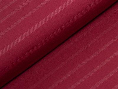 Jersey mit Glitzerfäden - rot