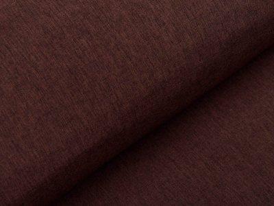 Softshell Jackenstoff - meliert braun