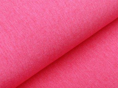 Softshell Jackenstoff - meliert pink