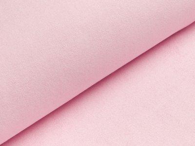 Wasserabweisender Frotteestoff für Lätzchen oder Wickelauflage Stück ca. 75 x 75 cm - rosa