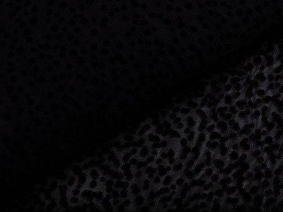 Mesh - Punkte - schwarz