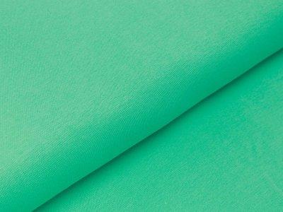 Glattes Bündchen im Schlauch Swafing Heike-FS21 100 cm - uni hellgrün