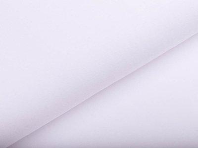 Hochwertiger Bambus Jersey - uni weiß