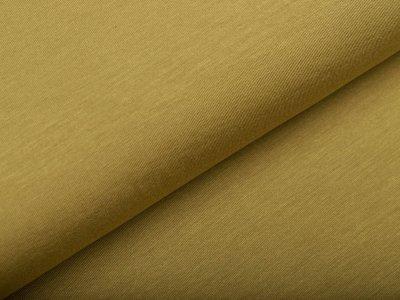 Hochwertiger Bambus Jersey - uni olivgrün