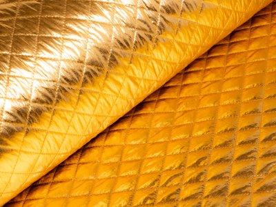 Rautenstepper klein - Hologramm - gold