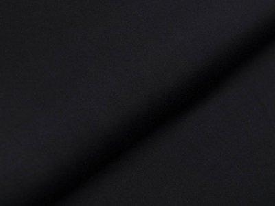 Viskosesatin leicht glänzend Swafing Vivien - uni schwarz