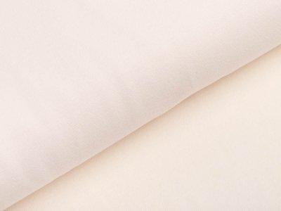 Glattes Bündchen im Schlauch Heike Swafing 100 breit - creme