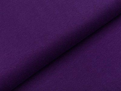 Glattes Bündchen im Schlauch Heike Swafing 100 breit - lila
