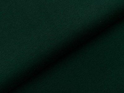 Glattes Bündchen im Schlauch Heike Swafing 100 breit - flaschengrün