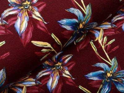 Jersey - Lilien - bordeaux