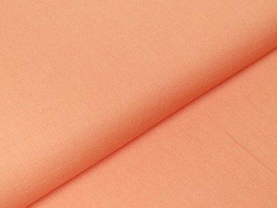 Webware Viskose - Leinenoptik - orange