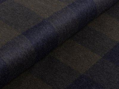 Tweed Wollstoff Swafing Luigi - Karomuster - olive