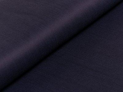 Slub Jeansstoff Köper - meliert dunkelblau