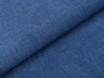 Webware Leinen Georgio - meliert jeansblau