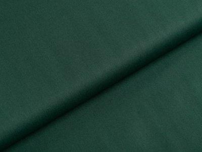 Webware Popeline Baumwolle - uni tannengrün