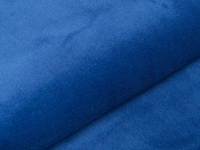 Wellnessfleece Teddyplüsch - uni royalblau